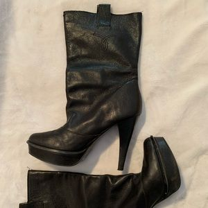 Calvin Klein | leather boots 👢